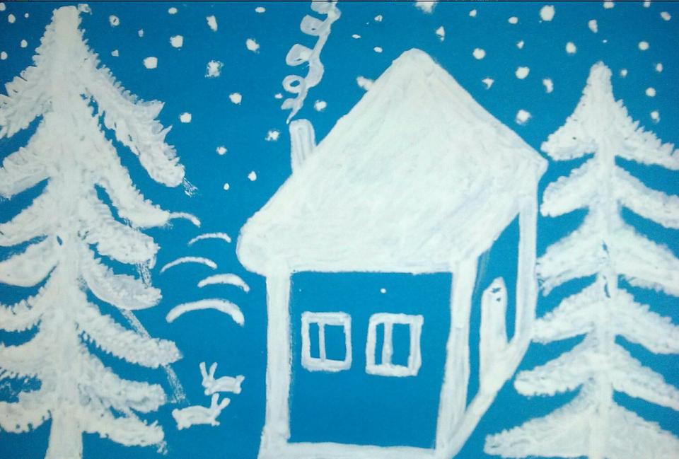 Рисунок на зимнюю тему в детский сад, благодарность врачу гинекологу