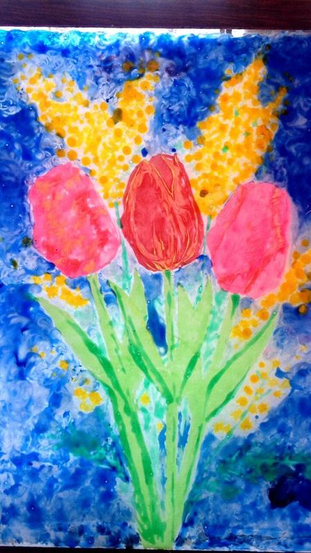 Картинки как нарисовать подарок для мамы