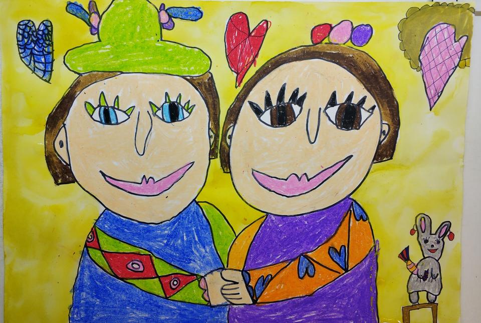 Картинки как нарисовать дружбу
