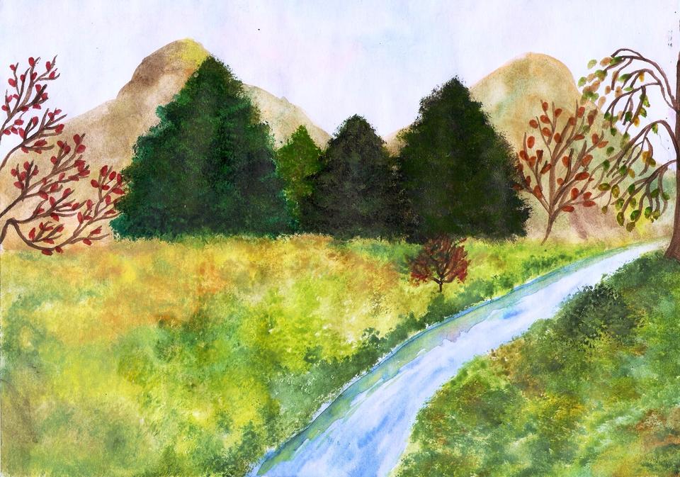 Рисунки к рассказу бежин луг тургенева которые можно нарисовать легко бесплатно широкоформатные