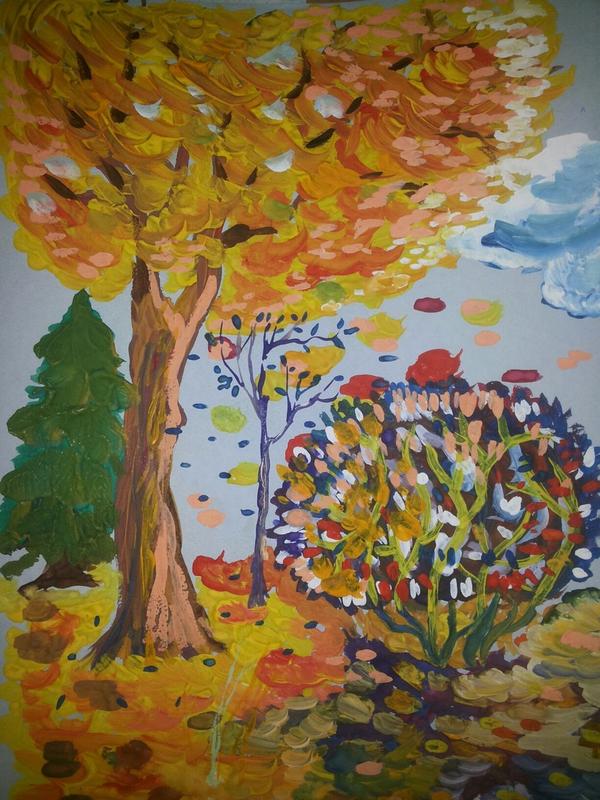 Осень картинки начальные классы