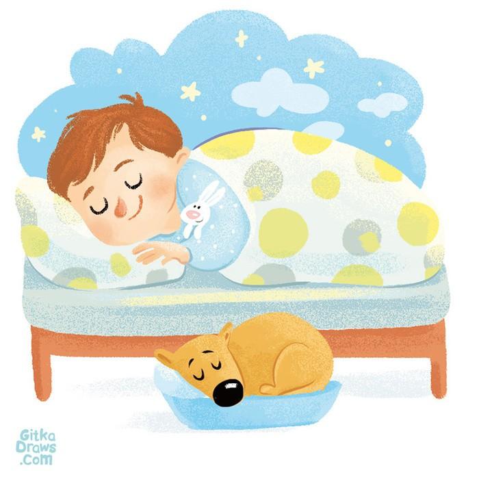 Картинка сны ребенка