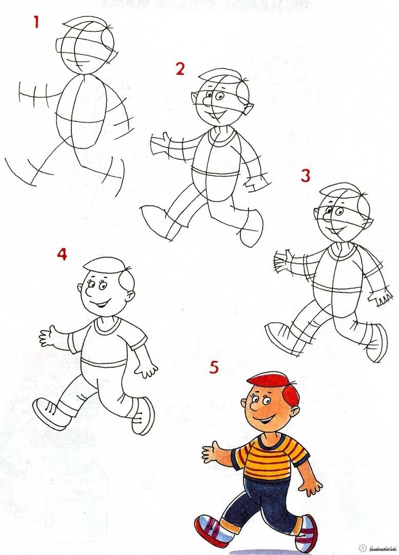 устраивает картинки учиться рисовать человека тун