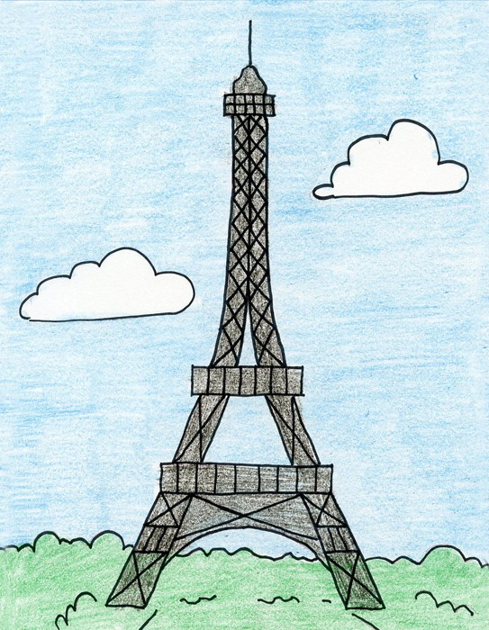 таайа картинки эльфивую башню карандашом поэтапно октябрьском районе урок