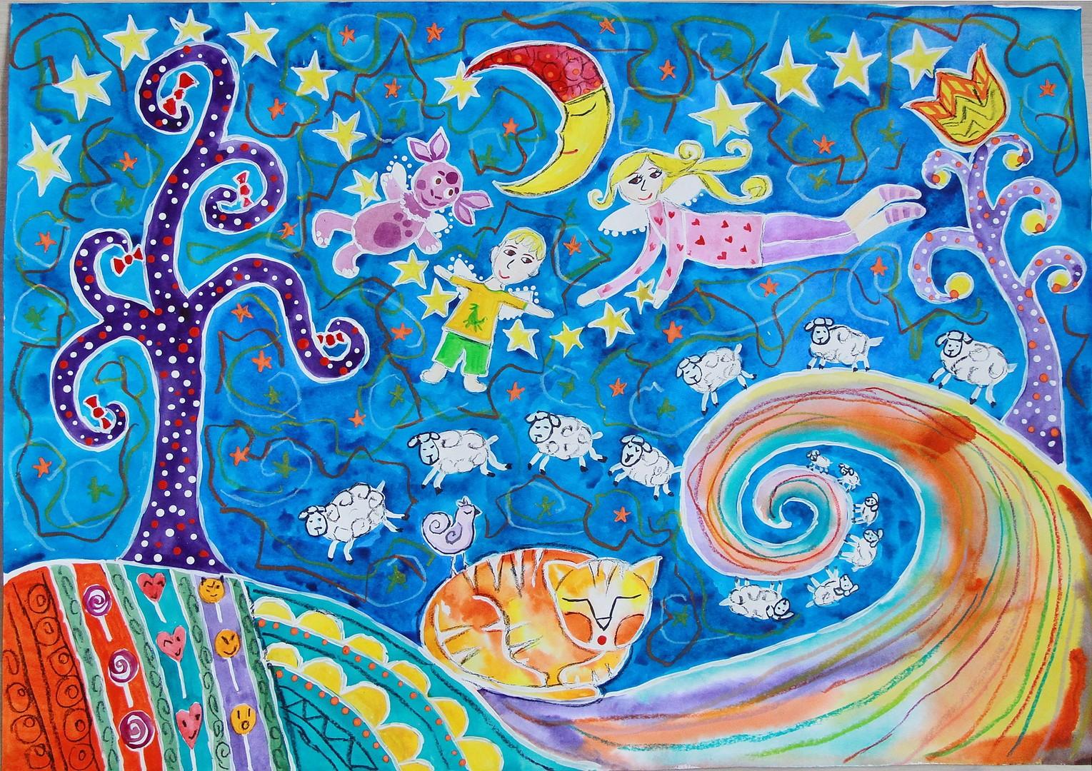 Картинки волшебный мир нарисовать